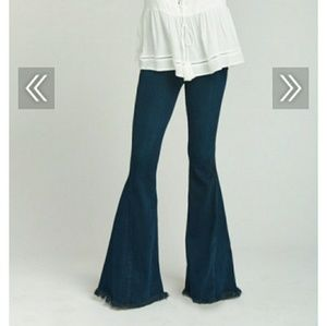 Bellbotoms denim jeans